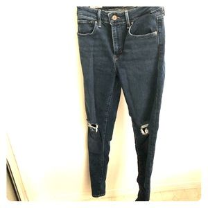 Levi High-rise Skinny Jeans 721